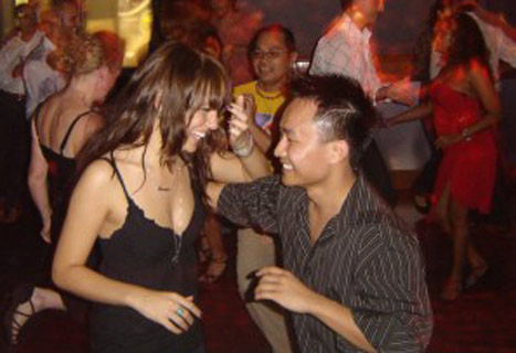Salsa Dancing in Barcelona Spain